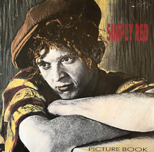 Simply Red - Picture Book (LP) (VG-/G-VG)